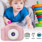 Детская цифровая мини камера фотоаппарат X2 цифровой (Розовый)
