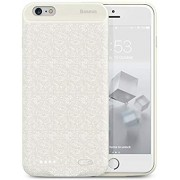 Чехол-аккумулятор Baseus Plaid Backpack Power Bank 7300mAh для iPhone 6/6S Plus ACAPIPH6SP-LBJ02 (Белый)