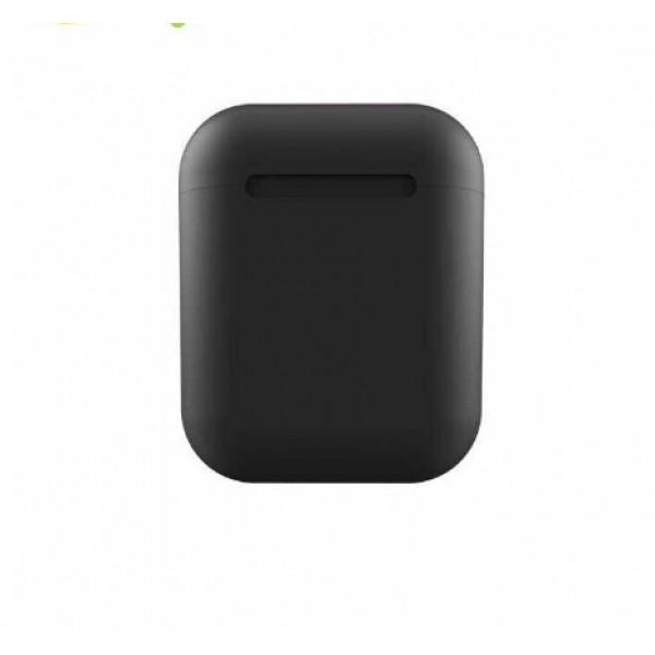 Беспроводные наушники In Pods 12 Macaron Wireless Bluetooth Stereo V5.0 (черный)
