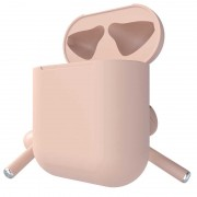 Беспроводные наушники In Pods 12 Macaron Wireless Bluetooth Stereo V5.0 (розовый)