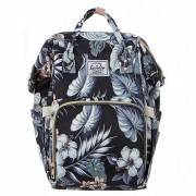 Сумка-рюкзак для мам Barrley Prince Единорог (Черный)