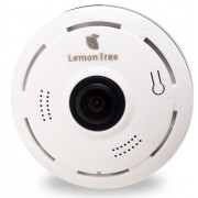 Панорамная IP Wi-Fi камера panoramic camera V380S, V380 2 mp Lemon Tree (Белый)