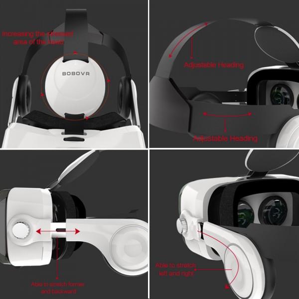 BOBO VR Z4 шлем виртуальной реальности 3D-VR шлем (Черный)