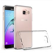 Чехол силиконовый мягкий для Samsung Galaxy A5 2018 (Прозрачный)