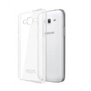 Чехол силиконовый мягкий для Samsung Galaxy Grand Prime SM-G530H (Прозрачный)
