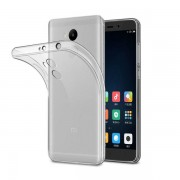 Чехол силиконовый мягкий для Xiaomi Redmi 4 Prime (Прозрачный)