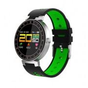 L8 Фитнес часы (смарт браслет) с контролем сердечного ритма и давления (Зеленый)