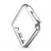 Защитный пластиковый чехол для Apple Watch (Серебристый 42мм)