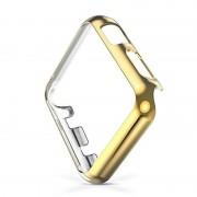 Защитный пластиковый чехол для Apple Watch (Золотистый 42мм)