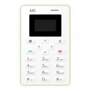 Мини мобильный телефон Mini Phone AIEK M5 (Зеленый)