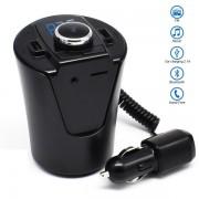 Беспроводной автомобильный радио аудио адаптер Capdase Cup HZ стакан (Черный)