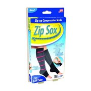 Компрессионные гольфы Zip Sox L-XL (Черный)
