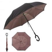 Инновационный обратный зонт (Бежевый)