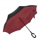 Инновационный обратный зонт (Бордовый)