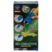 3D ручка детская светящиеся чернила (Желтый)