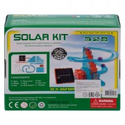 Детский развивающий конструктор с солнечной панелью в наборе солнечные горки