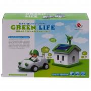 Детский развивающий конструктор в наборе солнечный набор. Зеленая жизнь