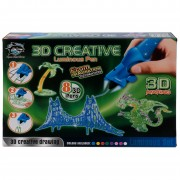 Набор детских 3D-ручек (8 шт.), светящиеся чернила itfun Toys