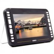 Портативный DVD плеер с цифровым тюнером DVB-T2 10.2 Eplutus LS-919Т (Черный)