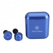 Наушники TWS X3T bluetooth Touch Twice с сенсорным управлением (Синий)