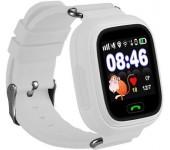 Умные детские часы с телефоном и GPS трекером Smart Watch Q90 (Белые)