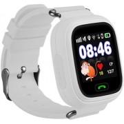 Умные детские часы с телефоном и GPS трекером Smart Baby Watch Q90 (Белые)