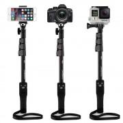 Монопод Yunteng YT-1288 с зумом для смартфона, фотоаппарата, экшен-камеры