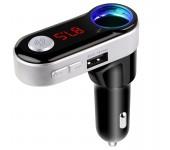 Автомобильный Bluetooth FM-трансмиттер c Hands Free BC09B