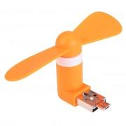 Мини-вентилятор Refon Mini Fan F10 для iPhone (Оранжевый)