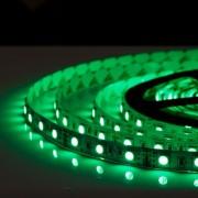 Светодиодная led лента 5 метров размер 5050 ip65 (Зеленый)
