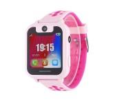 Детские умные часы Smart Baby Watch X с камерой (Розовые)