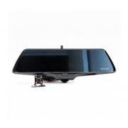 Автомобильный видеорегистратор-зеркало с 2-я камерами большой угол обзора Eplutus D36 (Черный)