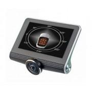 Автомобильный видеорегистратор большой угол обзора Eplutus D37 (Черный)