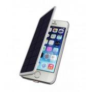 Чехол для Iphone 6 с аккумулятором и солнечной батареей 2800 mAh Power Bank Solar battery case (Белый)
