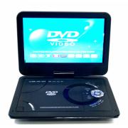 Портативный DVD плеер с цифровом тюнером DVB-T2 LS-104T Eplutus (Черный)