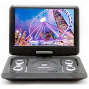 Портативный DVD плеер 14 LS-130T c цифровым тюнером DVB-T2 Eplutus (Черный)