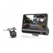 Автомобильный видеорегистратор c 3-я камерами Eplutus DVR-H33 (Черный)