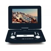 Портативный DVD плеер 10,2 Eplutus EP-1029T c цифровым тюнером DVB-T2 (Черный)