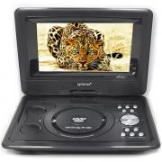 Портативный DVD плеер 9,5 Eplutus EP-9521T c цифровым тюнером DVB-T2 (Черный)