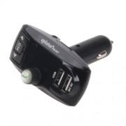 Автомобильный FM-модулятор Eplutus FM-637 (Черный)