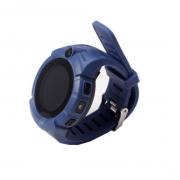 Умные детские часы с камерой и фонариком Smart GPS Watch Q360 GW600 (Синий)