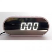 Часы настольные зеркальные VST-712Y/1 (Белый)