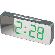 Электронные сетевые часы vst-763y (Зеленый)