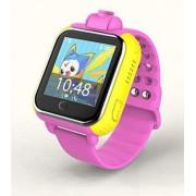 Умные детские часы Smart Baby Watch Q75 с GPS Q200 TD-07 с камерой и 3G (Розовый)