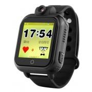Умные детские часы Smart Baby Watch Q75 с GPS Q200 TD-07 с камерой и 3G (Черный)