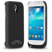 Чехол с аккумулятором Power Case для Samsung Galaxy S4 объем 3000 мАч (Черный)