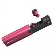 Беспроводные Bluetooth наушники Awei T8 TWS (Розовый)