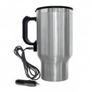 Автокружка, автомобильная термокружка чайник с подогревом от прикуривателя Travel Mag