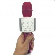 Беспроводной Bluetooth And Hifi микрофон караоке Ws 858-1 (Розовый)
