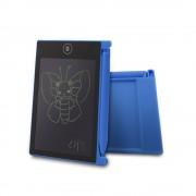 Портативный LCD планшет для рисования и записей с ЖК дисплеем 4,4 дюйма (Синий)